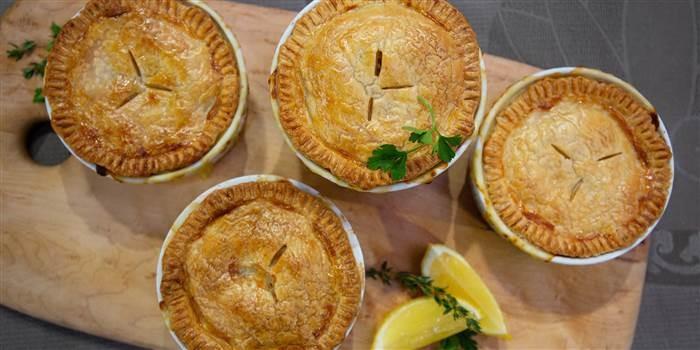 10 June - Chicken Pot Pie